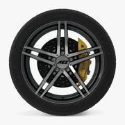 AEZ波托菲诺暗盘车轮 3d model