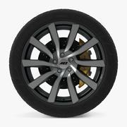 AEZ Reef Disk Car Wheel 3d model