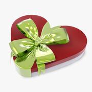 Heart Box Gift 3d model