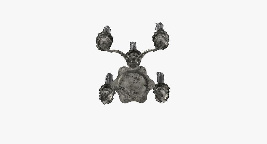 Candelabros Assustadores - Mantel royalty-free 3d model - Preview no. 15