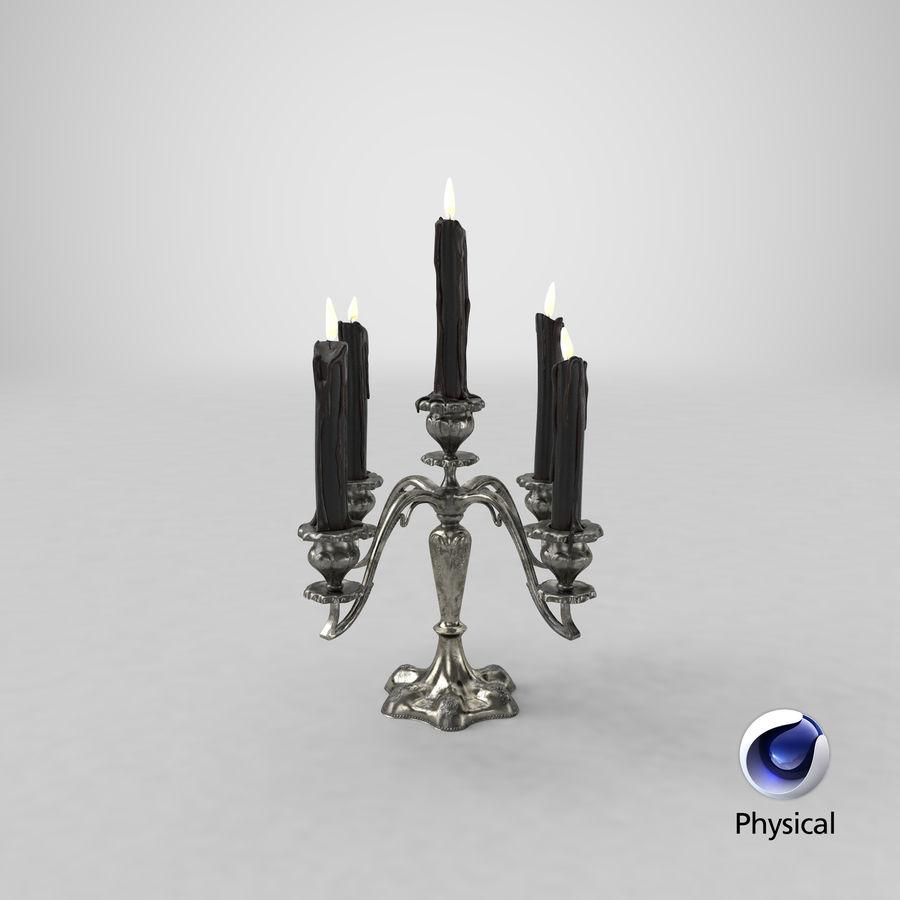 Candelabros Assustadores - Mantel royalty-free 3d model - Preview no. 49