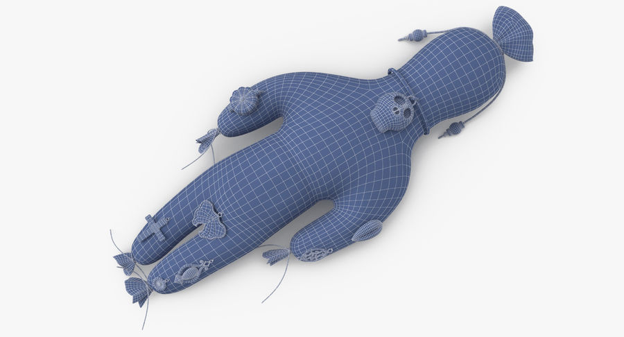 Voodoo Doll 02 royalty-free 3d model - Preview no. 15