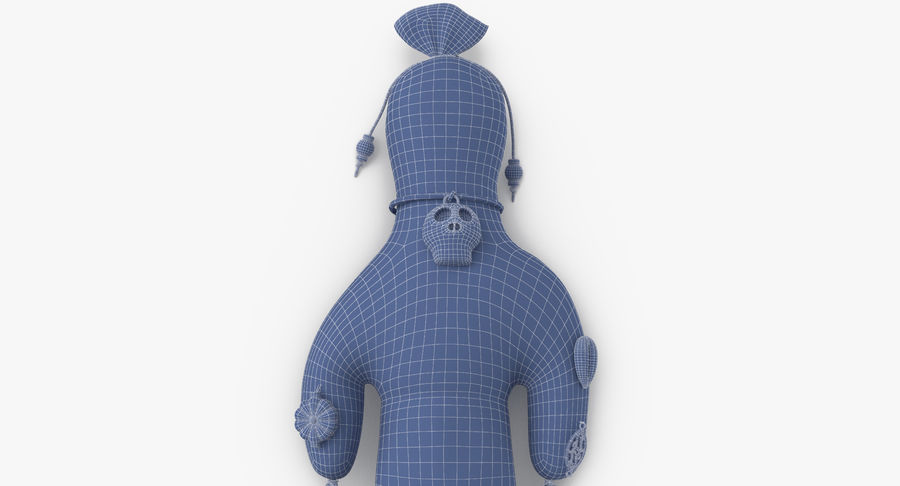 Voodoo Doll 02 royalty-free 3d model - Preview no. 17
