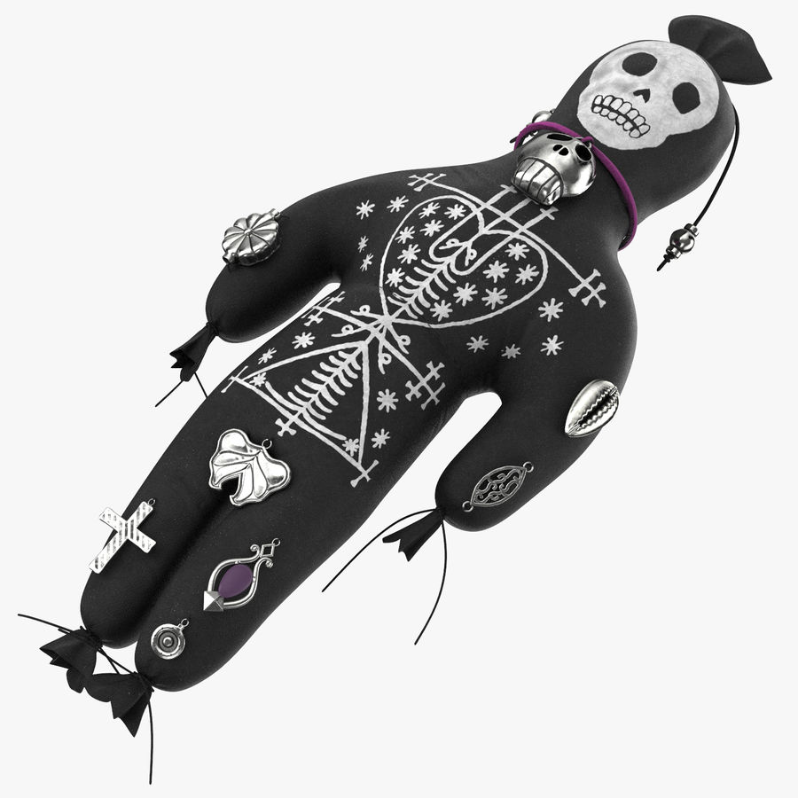 Voodoo Doll 02 royalty-free 3d model - Preview no. 1