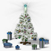Mini Christmas Tree (snow frost) 3d model