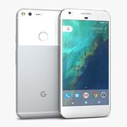 Google Pixel XL Muito Prateado 3d model