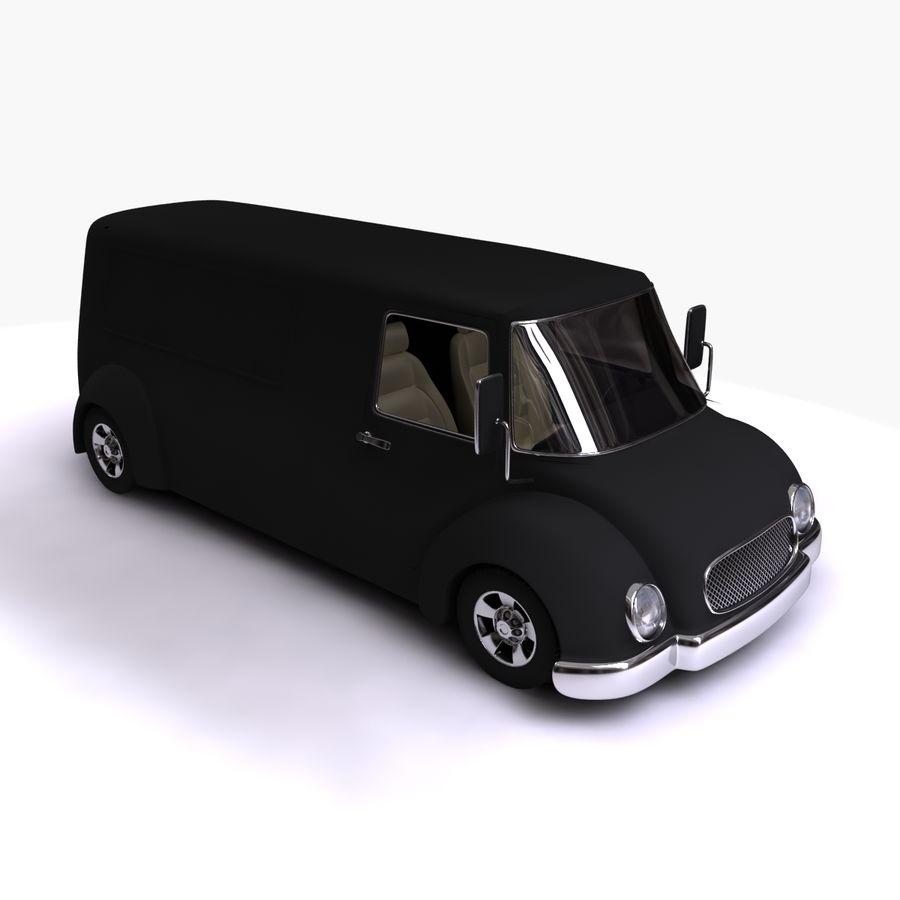 만화 자동차 royalty-free 3d model - Preview no. 13