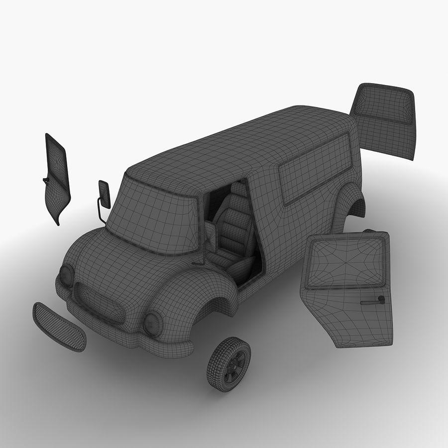 만화 자동차 royalty-free 3d model - Preview no. 11