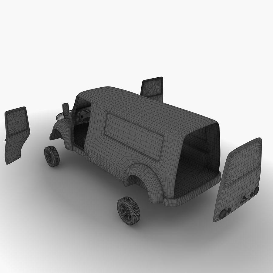 만화 자동차 royalty-free 3d model - Preview no. 12