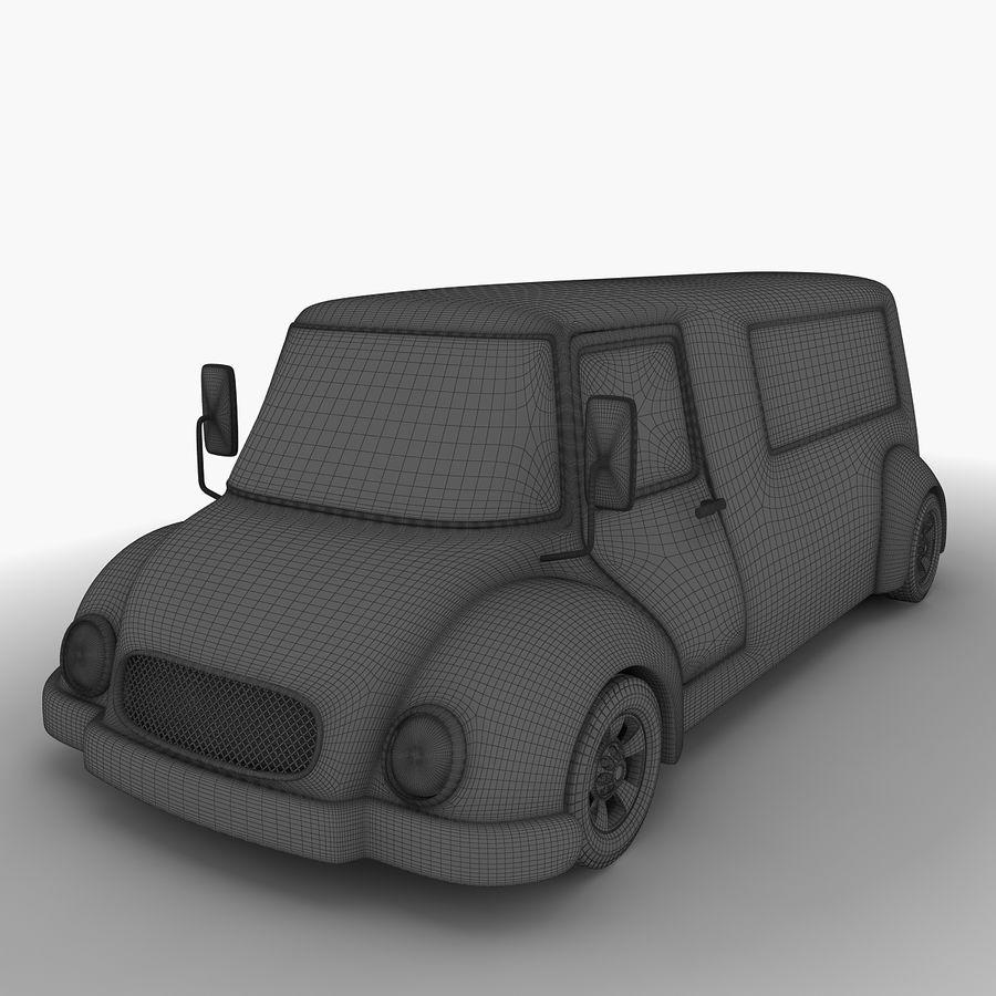 만화 자동차 royalty-free 3d model - Preview no. 10