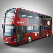 Ônibus Londres Arriva 3d model
