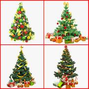 Coleção de árvores de Natal V1 3d model