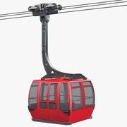 Ski Lift Gondola 3d model