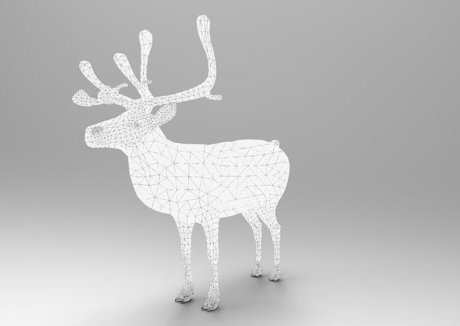 Santa sleigh royalty-free 3d model - Preview no. 21