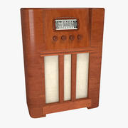 Antika Radyo 3d model