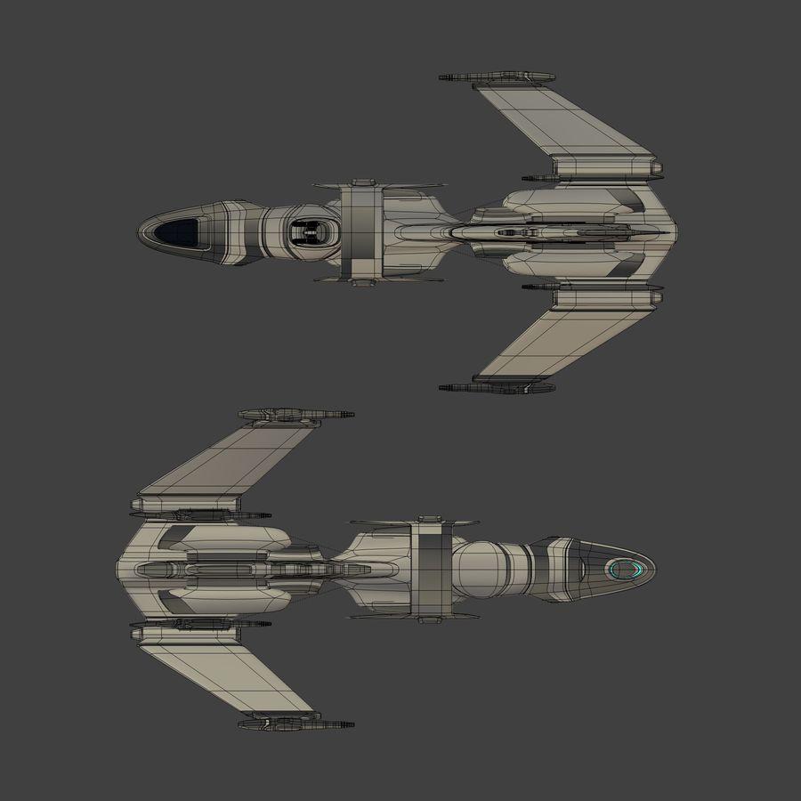 Gunship royalty-free 3d model - Preview no. 11