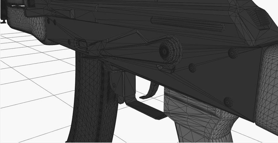 AK47 royalty-free 3d model - Preview no. 19