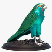 Falcon Statue 3d model