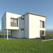 Дом 30 3d model
