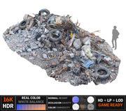 Tire  Garbage  16K 3d model