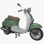 Scooter 01 3d model