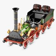 """Historical Train """"Adler"""" 3d model"""