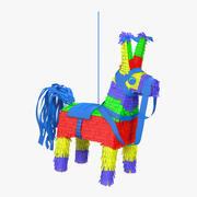 Pinata à l'âne mexicain 3d model