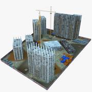 建設現場 3d model