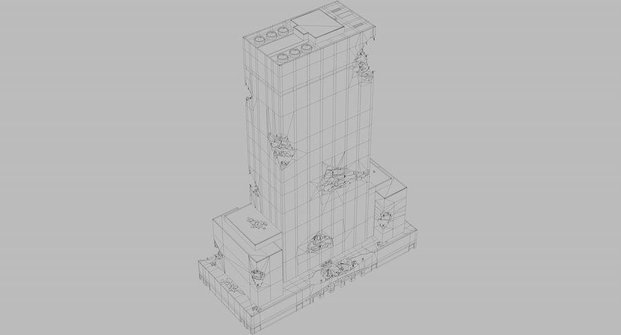 苏康尼美孚毁了 royalty-free 3d model - Preview no. 10