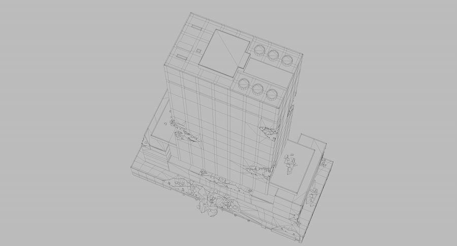苏康尼美孚毁了 royalty-free 3d model - Preview no. 12