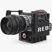 Red Epic Camera 3 3d model