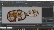 윈터 펠 (왕좌의 게임 소개) 3d model