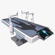 Robot médical de science-fiction 3d model