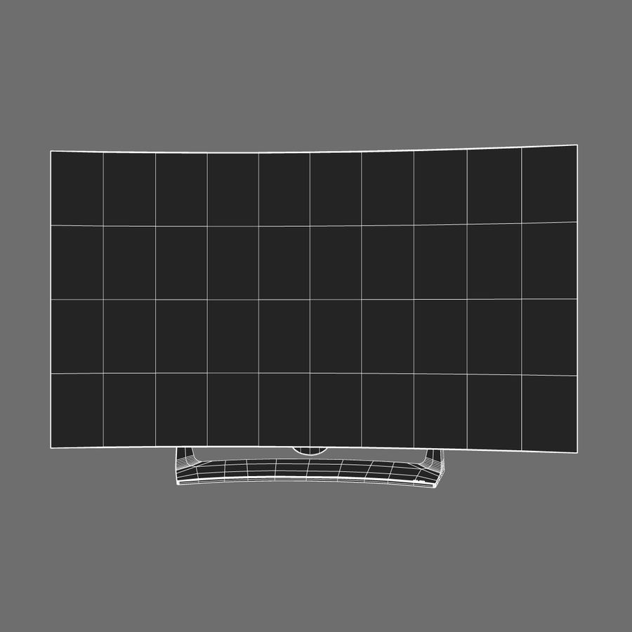 LG OLED Television royalty-free 3d model - Preview no. 8