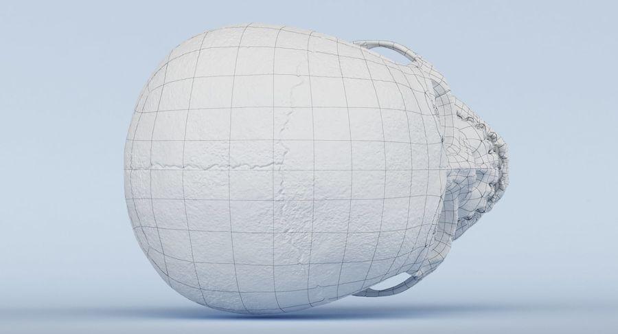 Anatomie du crâne royalty-free 3d model - Preview no. 27