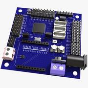 Elektroniczna płyta systemowa RoboController 3d model