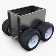 Sistema robotico Super Mega Bot con contenitore a scatola 3d model