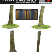 Forest Tree Pack 4 3d model