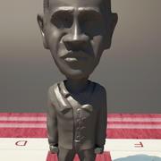 国际象棋奥巴马 3d model