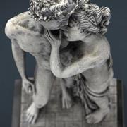 ギリシャの恋人 3d model