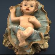 Младенец Иисус 3d model
