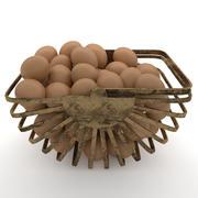 Vintage Egg Egg 3d model