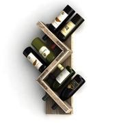 Wine Rack 1 3d model