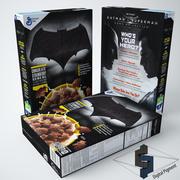 Płatki Batman 3d model