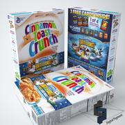 Cannelle Toast Crunch V2 3d model