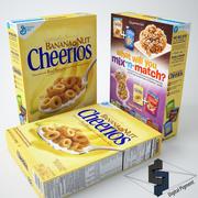 Cheerios bananmutter 3d model