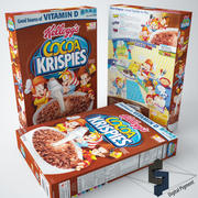 Cocoa Krispies 3d model