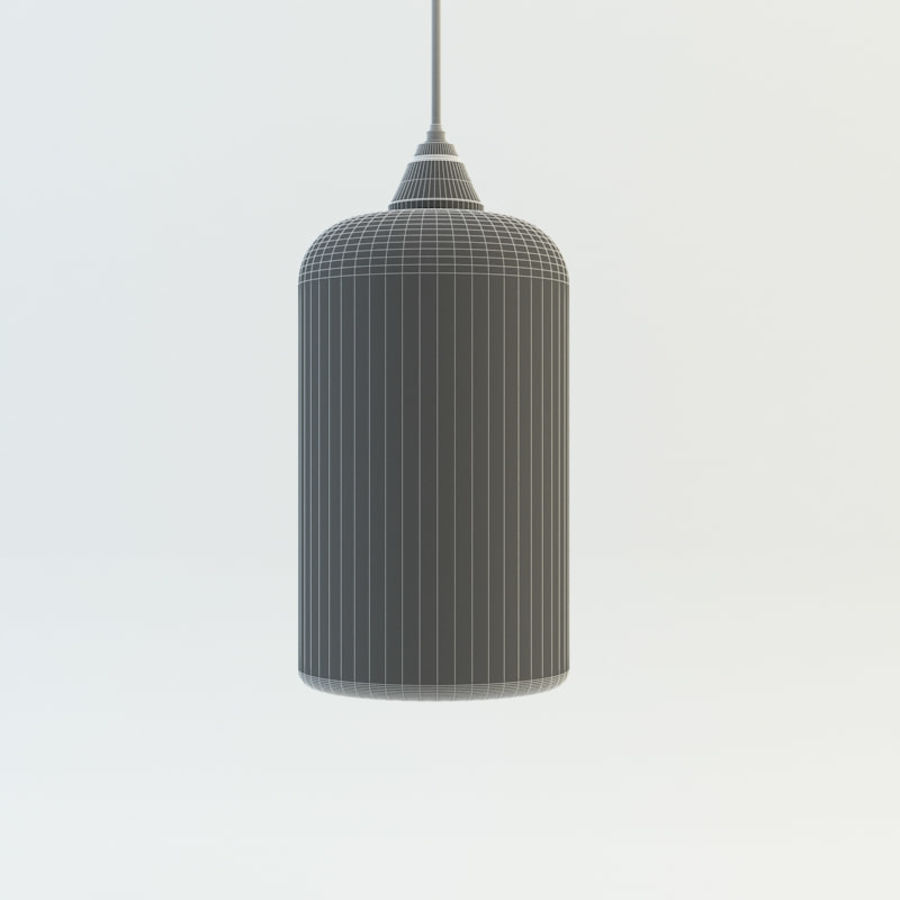 Żyrandol domowy Gramercy royalty-free 3d model - Preview no. 5