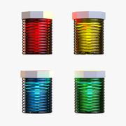 Lanternes de Noël 3d model