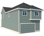 Casa de los Estados Unidos 02 modelo 3d